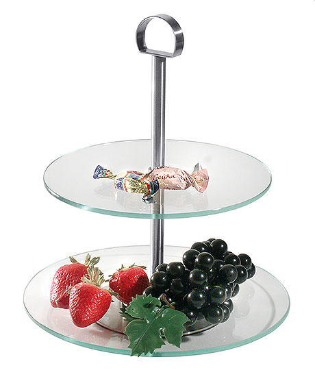 3226/002 2 and 3 Tier Cake Stands