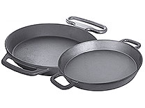 Large Cast Iron Pans
