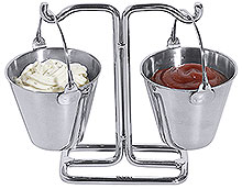 Mini Sauce Buckets Set