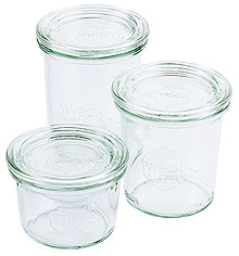 Conical Weck® Glass Jar