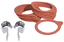 Weck® Gaskets and Clips