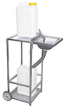 Mobile Wash Basin
