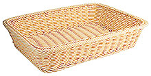 Basket, rectangular