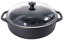 Casserole with Glass Lid