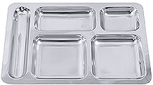 Five Division Tray