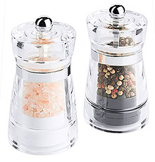 Acrylic Salt & Peppermill Set
