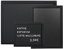 Menu Board, black