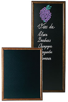 Menu Board, dark brown