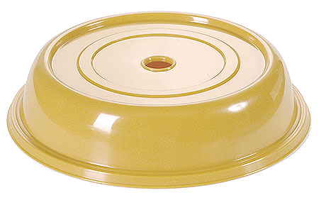 6442/230 Plate Cover, dark yellow