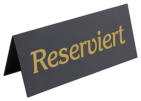 6769/120 Reserved Table Sign